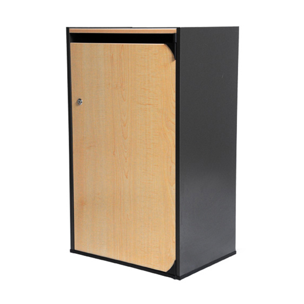 Maple Wood Ergo Duraflex Signature Series Secure Document Collection Console - All Source Products