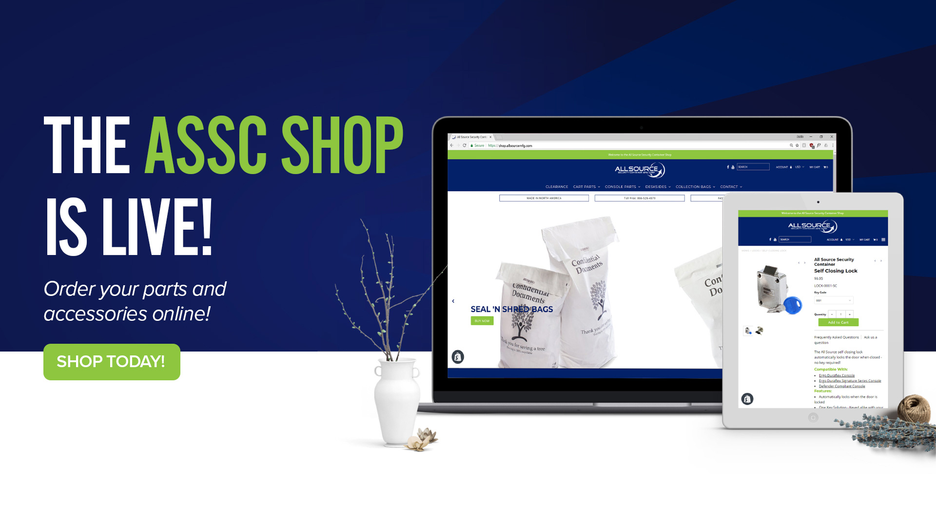 ASSC Shop Launch Website Slider