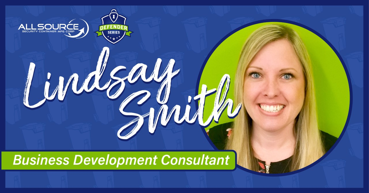 Meet Lindsay Smith from All Source Security Containers MFG